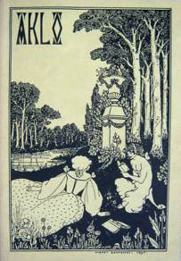 AkloIssue 2 Summer 1989Cover art by Aubrey Beardsley