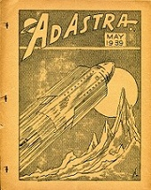 Ad Astra Issue 1 May 1939  Cover art by Julian S. Krupa