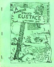 A Fanzine Called Eustace Issue One, Cover art by Jim Cawthorn 1959