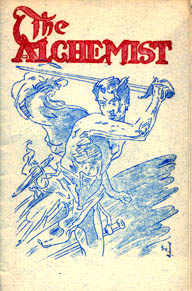 The Alchemist  Issue 5 February 1941 Cover Art by J. Allen St. John