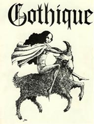 Gothique Issue 7 Cover art by Moy Read 1967