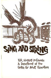 Sing and String Issue One, 1959