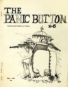 The Panic ButtonIssue 6 Fall 1961Cover art by Arthur Thomson (ATom)