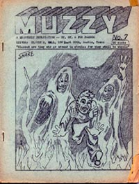 Muzzy Issue 7 1954 Cover art by Nancy Share