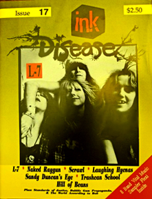 Ink DiseaseIssue 17Cover photo of L7