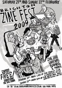 Poster for the zinefest