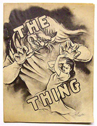 The (Unspeakable} Thing Issue 2 Cover by T. Soyunki 1946