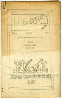 The CometIssue 1 May 1930