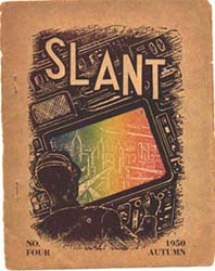 Slant No. 4 1950  Cover by James White
