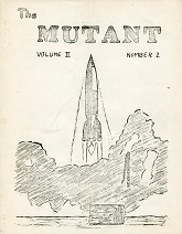 The Mutant Issue 2.2 May 1948  Cover art by Norman Kussuth