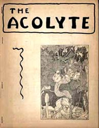 The Acolyte  Vol. 2, No. 1 Fall 1943 Cover Illustration by Howard Wandrei