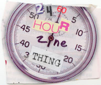 24 Hour Zine Thing logo