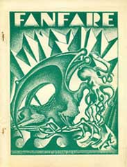 FanFare Issue 8 cover by Roy Hunt and Damon Knight