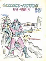 Science Fiction Five Yearly Issue One 1951