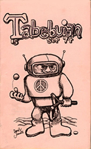 TabebuianIssue 15 September 1974Cover art by Dave Jenrette