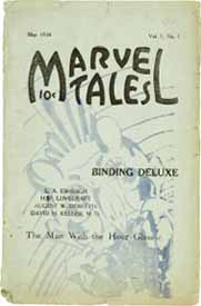 'Marvel Tales, Vol 1 No 1 1934