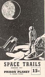 Space Trails Issue 1 Cover art by Jack Weidenbeck 1947