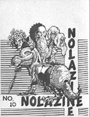NOLAzineIssue 10Cover art by Dany Frolich