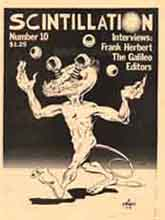 Scintillation Issue 10 1976 Cover Art by Al Sirois
