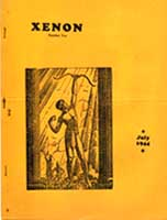 Xenon, Issue 2  Cover Art by Hannes Bok, July 1944