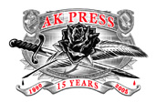 AK Press 15 Year Anniversary Logo