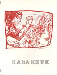 Habakkuk 1966 Cover Art by Steve Stiles