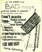Badinage Issue 4 March 1968  Cover art by Tony Walsh