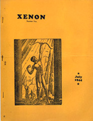 Xenon  Issue 2 July 1944  Cover Art by Hannes Bok