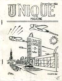 Unique Issue 2 December 1941  Cover art by Arthur Williams