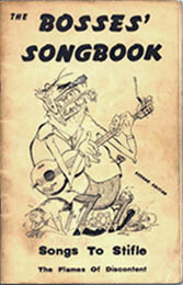 The Bosses' Songbook  1959 Cover art by Vince Hickey