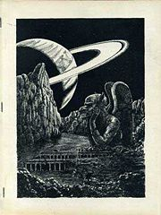 Niekas Issue 9 Cover Art by Jerry Burge September 1964