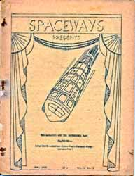 Spaceways Vol.1 No. 1 1938