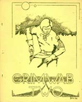 Grimwab Issue 2 1966 Cover Art by Harry Bell