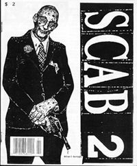 SCAB Issue Two (cover by G.B. Jones)