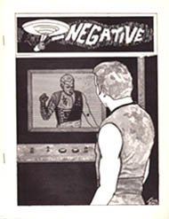 T-Negative Issue 9 January 1971  Cover by Anthony Tollin