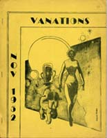 Vanations Issue 3 1952 Cover art by Naaman Peterson