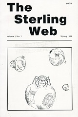 The Sterling Web Issue #1, Spring 1989 Cover Art by Amy K. Mann