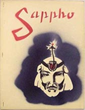 Sappho Issue 4 1944  Cover art by Jack Weidenbeck
