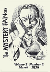 The Mystery FancierVolume 2, No. 2 March 1978Cover art by Franklyn Hamilton