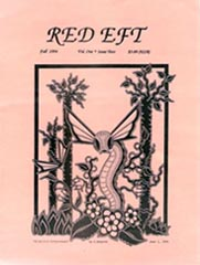 Red Eft Issue 2 1994Cover art by Cathy Buburuz