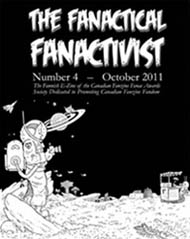 The Fanatical Fanactivist Issue 4 Cover by Taral Wayne 2011