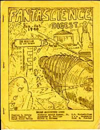 Fantascience Digest Vol. 3 No. 1 1940