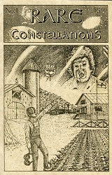 Rare Constellations #1 (July 1993), cover art by Darrell Gillenwater Jr.