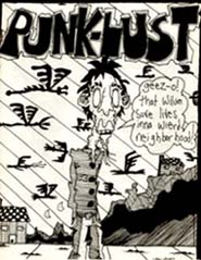 Punk Lust Issue 8 Cover Art by John Crawford