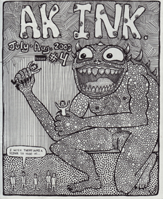 Ak Ink #4 Cover by Jennifer Gray