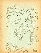 Joe's Jottings #1 (Fall 1945), cover art by unknown