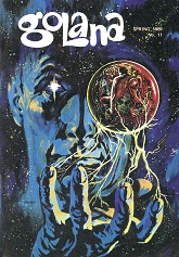 Golana Issue 11 Spring 1969  cover art by Dan Adkins