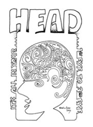 Head Issue 7 Cover by Brad Foster