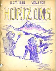 Horizons Vol.1 No. 1 1939