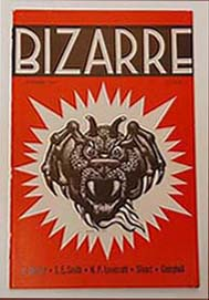 Bizarre, Cover by Hannes Bok 1941